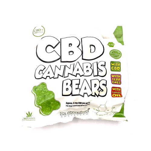 Dr. Greenlove CBD Cannabis Bears