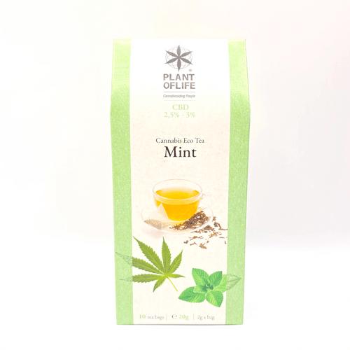 Plant of Life CBD-Bio-Tee Mint