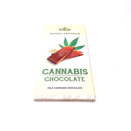 Original Amsterdam Cannabis Schokolade