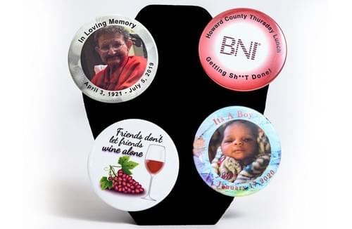 Custom Buttons for all occasions