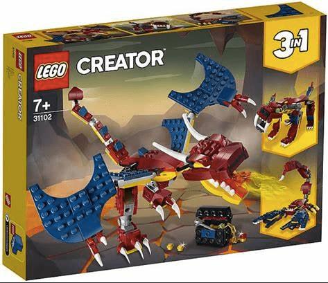 Dragon by Lego
