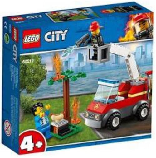 Camion de pompier LEGO
