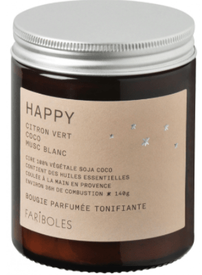 Bougie H A P P Y 140gr