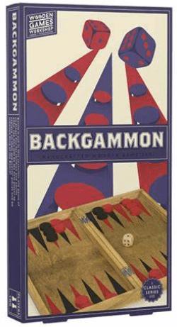 BACKGAMMON en bois