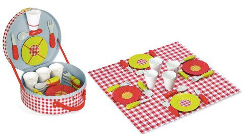 Set du picnic en bois