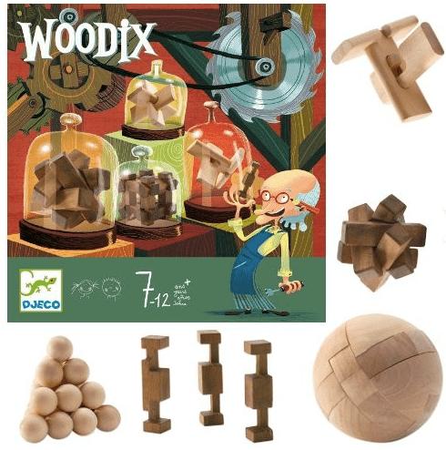 Woodix, jeu de patience Djeco