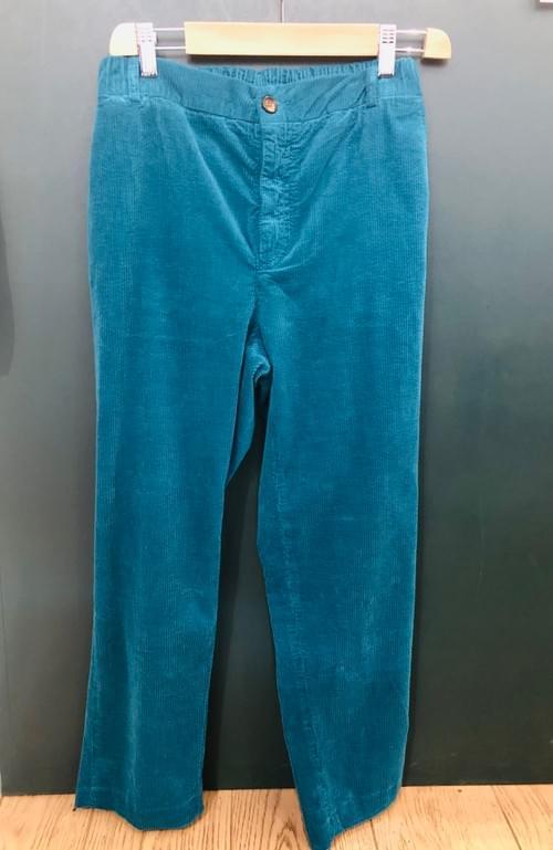 Pantalon Clyde Velour - Hod - Pétrol (T27 & T28)