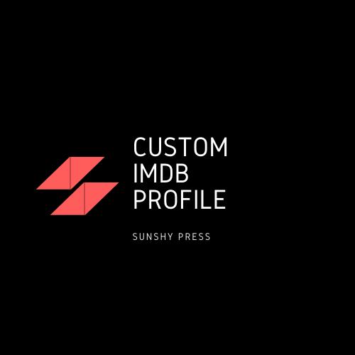 Get a Custom IMDb Profile
