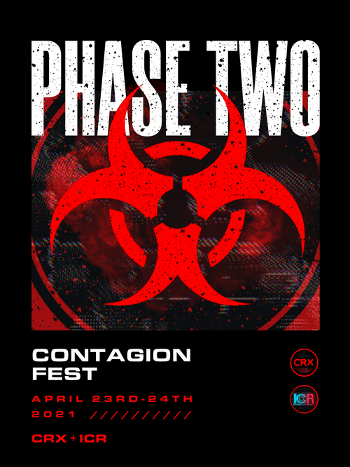 CRX CONTAGIONFEST PHASE TWO T-SHIRT