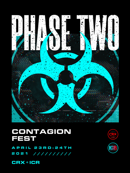 ICR CONTAGIONFEST PHASE TWO T-SHIRT
