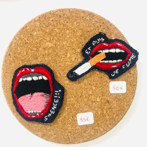 Broches : Série bouche