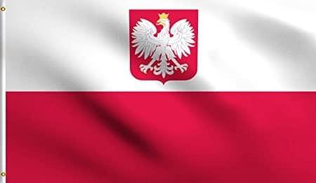 Государственный судовой флаг Польши (БЕСПЛАТНО при регистрации)