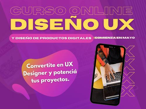 Curso Diseño UX + Diseño de producto