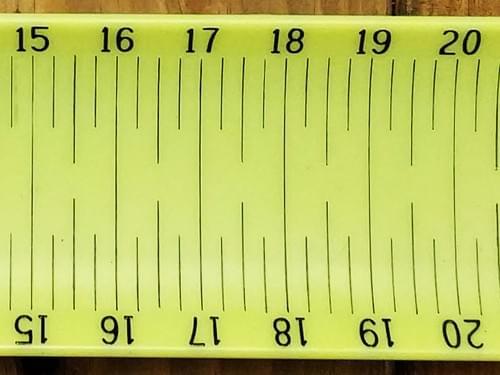 FishDonkey Measuring Board (Minimum Order 10)