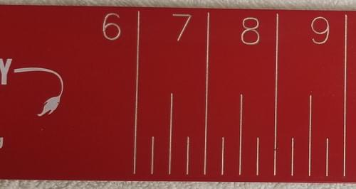 Aluminum Donkey Measuring Board - 30""