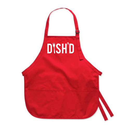 Medium Length Apron - Screen Printed