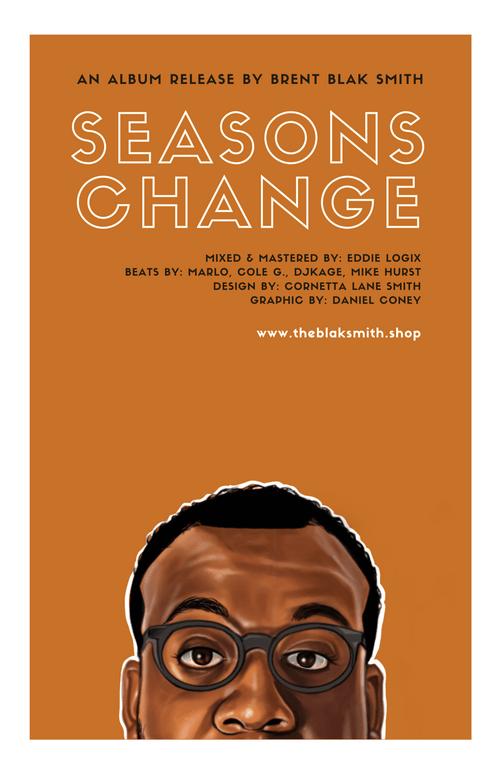 Seasons Change Poster + Digital Album