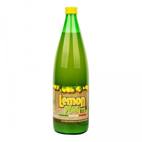 Jus de citron pur BIO 1L