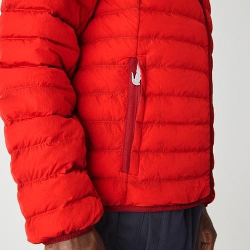 Abrigo Lacoste Acolchado y Ligero