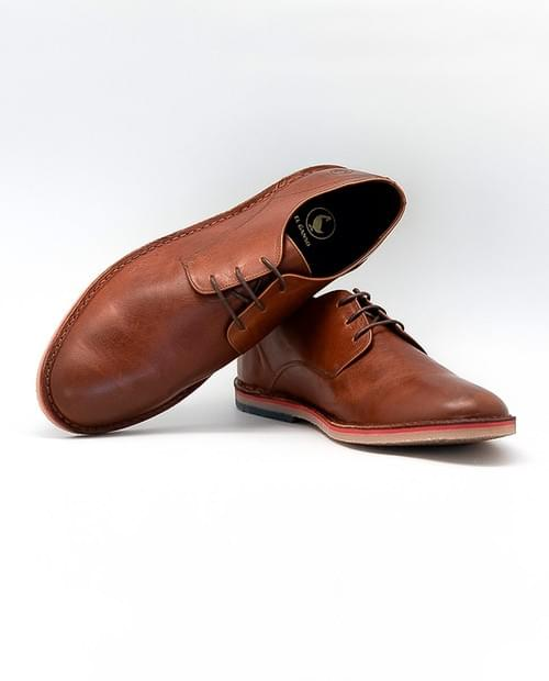Zapato El Ganso Guerrero Piel Marrón