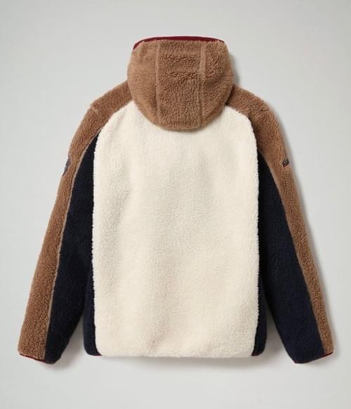 Sudadera Napapijri Yupik de felpa con capucha