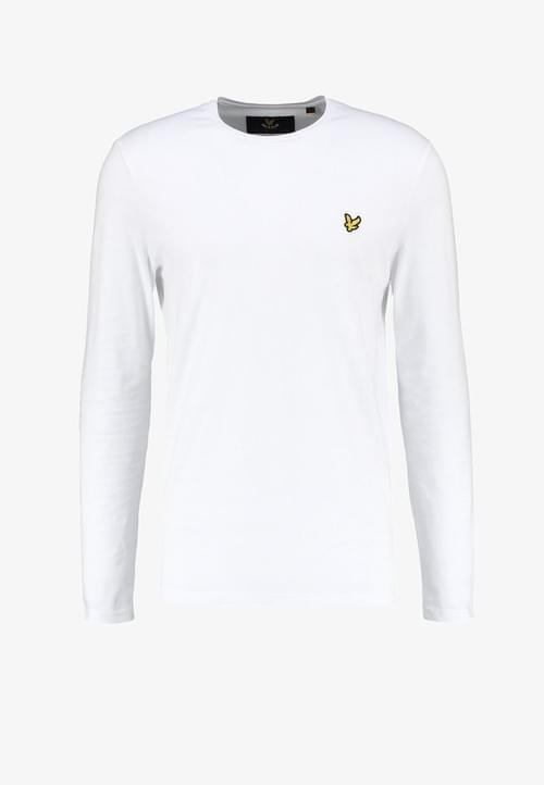 Camiseta Lyle & Scott de Manga Larga Blanca