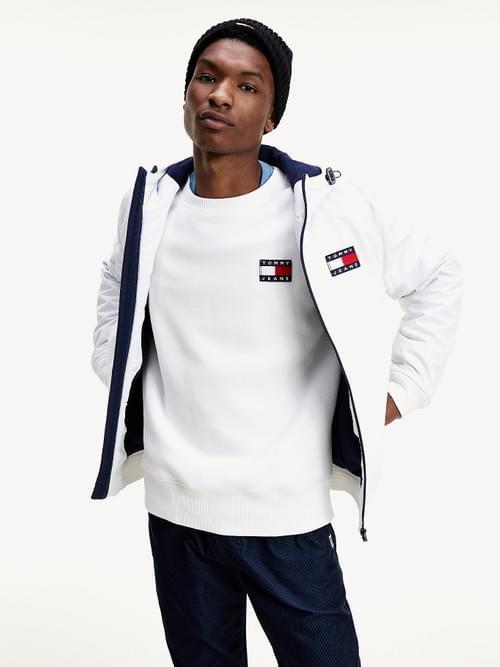 Cazadora Tommy Jeans Padded Jacket Blanca
