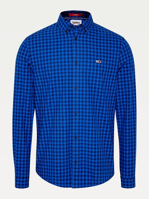 Camisa Tommy Jeans Essential Cuadros Vichy