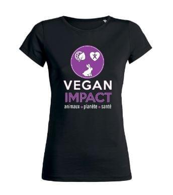 T-shirts Vegan Impact (coupe cintrée)