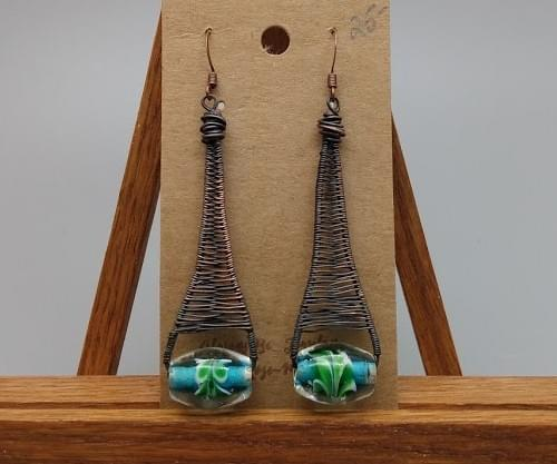 Earrings by Always Be Jewelry, created by Rose-Marie