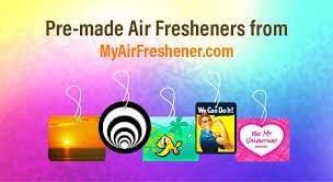 custom photo air fresheners