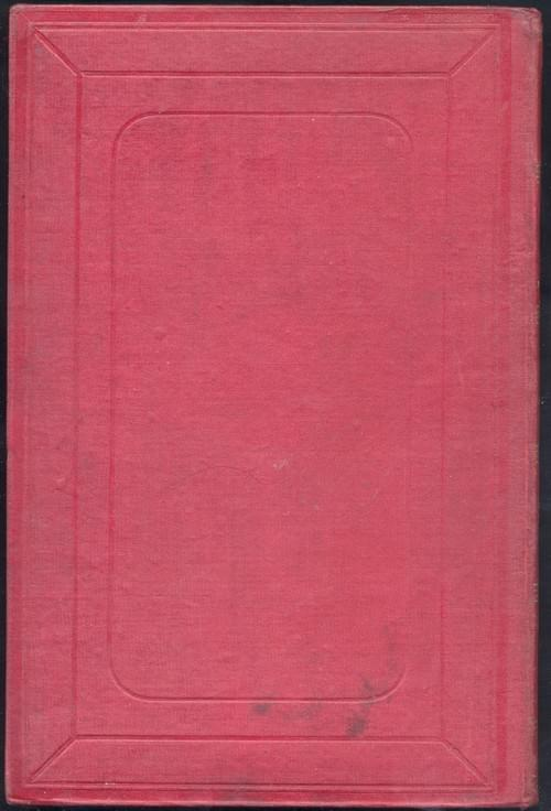 LES INDES-NOIRES - Jules Verne,  cartonnage à la grenade, rouge bordeaux, [1877]