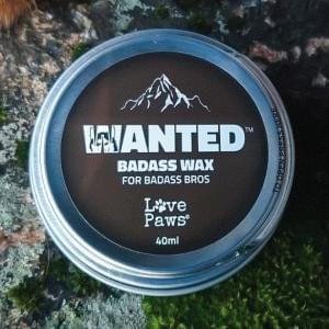 LovePaws® Tassuvaha WANTED Äijävaha, 40 ml