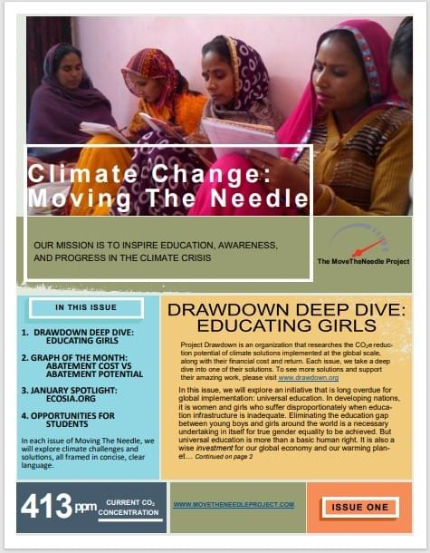 January Newsletter: Education and Externalities