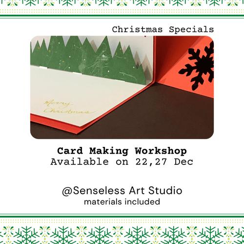 Christmas Pop-Up Card Making Workshop