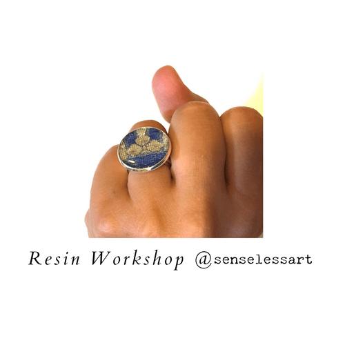 Resin Workshop Sat 20 Feb 2 - 4 pm