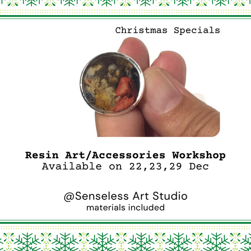 Christmas Resin Art&Accessories Workshop