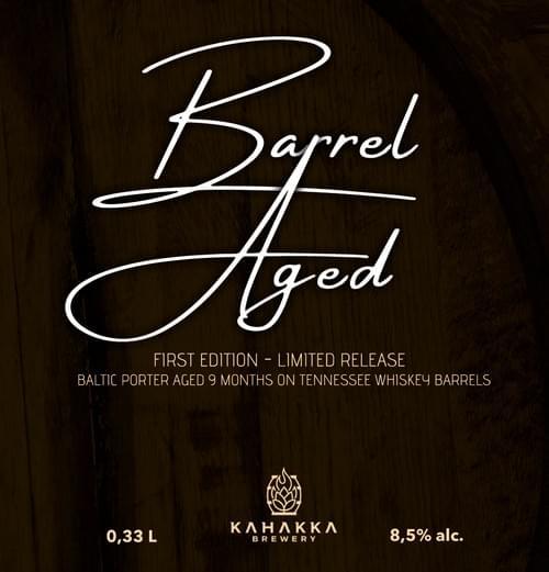 Barrel Aged Baltic Porter 8,5 %