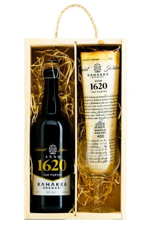 1620 Jubileumsöl Trälåda