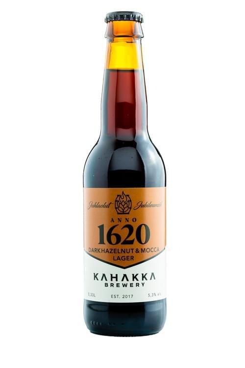 Anno 1620 Tumma Hasselpähkinä & Mocca Lager 5,3%