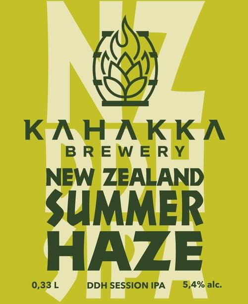 New Zealand Summer Haze 5,4%
