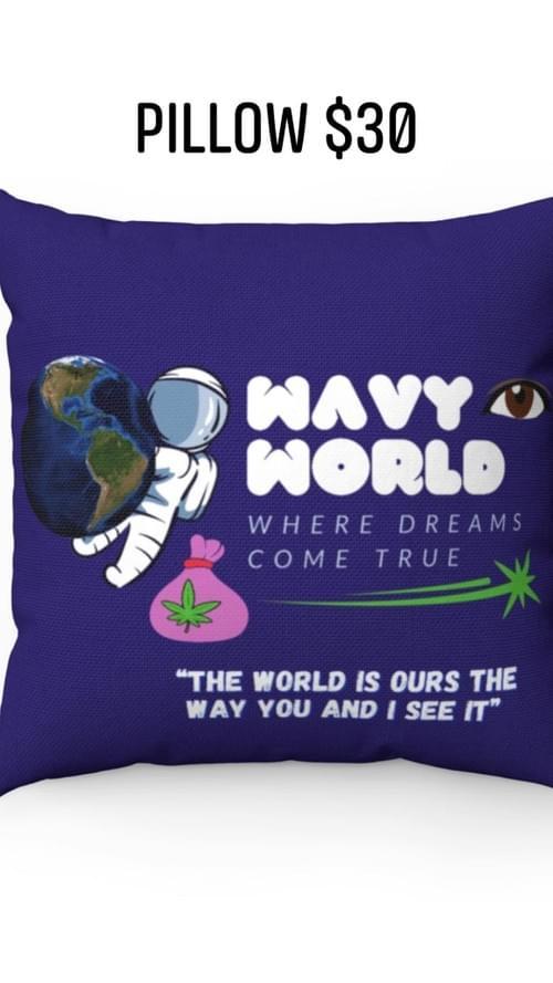 WavyWorld Pillow