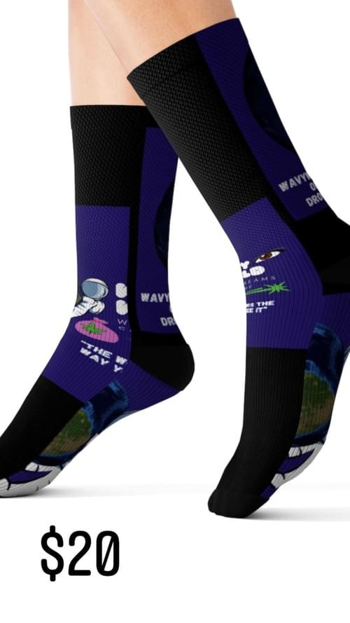 WavyWorld Socks