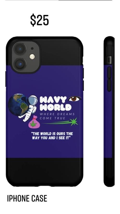 WavyWorld iphone case