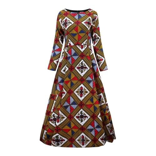 African Maxi Dresses Collection 3 - 5 Color Options