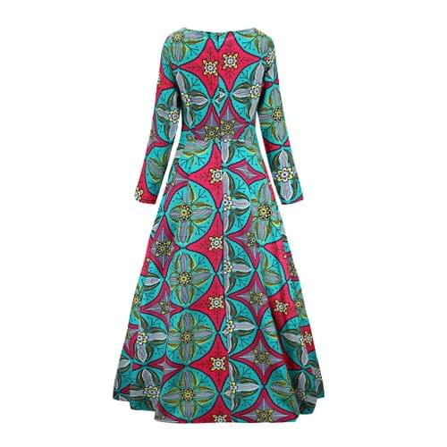 African Maxi Dresses Collection 2 - 5 Colors Option