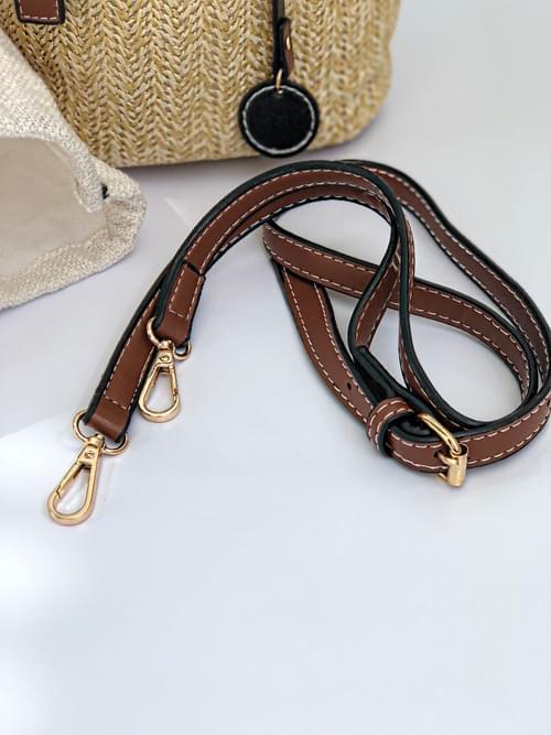 Elegant Straw Bag