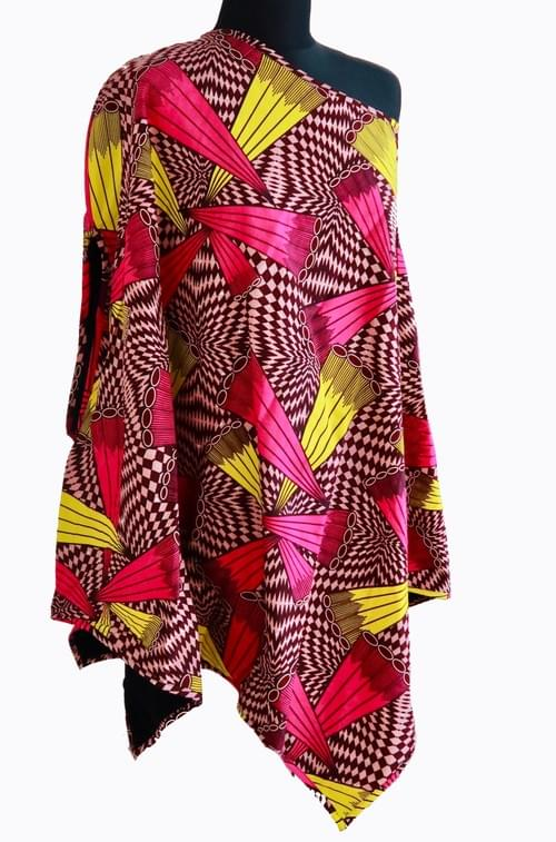African Ponchos - 2 Color Options