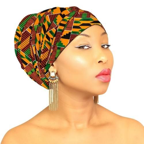 African Headwraps - Kente Goddess
