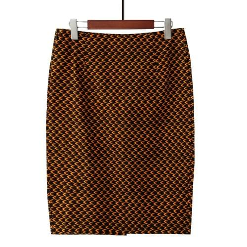 African Pencil Skirts - 5 Fabric Options